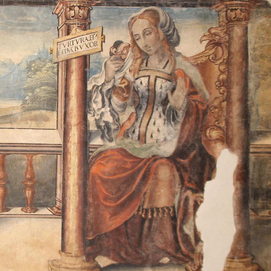 Pinturas Cámara de Doña Sancha